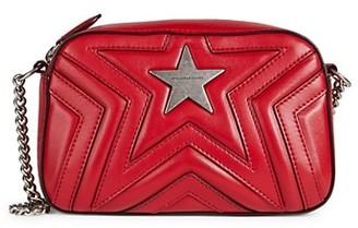 Stella McCartney Vegan Leather Star-Zip Crossbody