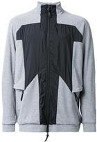 11 By Boris Bidjan Saberi panelled sport jacket - men - Cotton/Polyamide - S