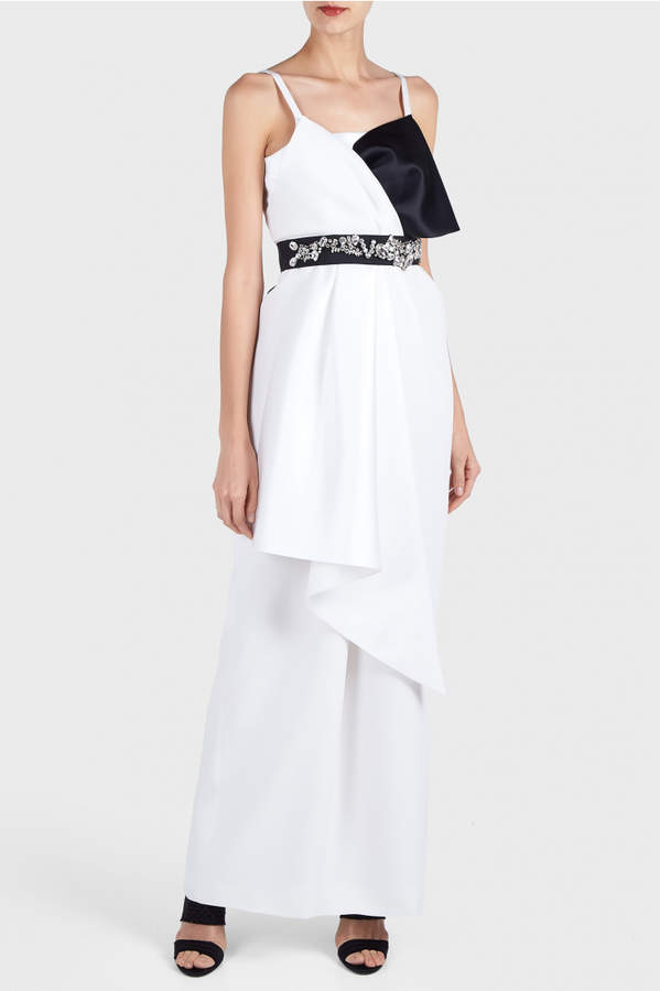 Dice Kayek Bow Tie Dress