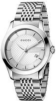 Gucci Mens G-Timeless Collection Stainless Steel Watch
