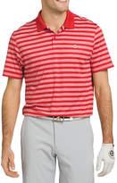 Izod Golf Ace Feeder Stripe Short Sleeve Polo