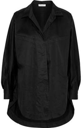 Opening Ceremony Oversized Cotton-blend Poplin Shirt