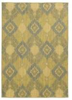 Tommy Bahama Cabana Collection Ikat Green 9-Foot 10-Inch x 12-Foot 10-Inch Rug