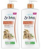 St. Ives Nourish & Soothe, Oatmeal & Shea Butter Body Lotion 21 oz (Pack of 2)