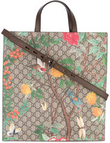 Gucci branded tote bag - unisex - Leather - One Size
