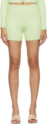 Dion Lee Green Float Shorts