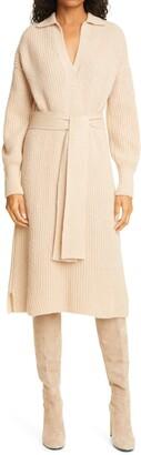 Eleven Six Jada Tie Waist Sweater Dress