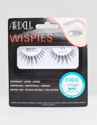 Ardell Lashes Wispies Clusters 603-Black