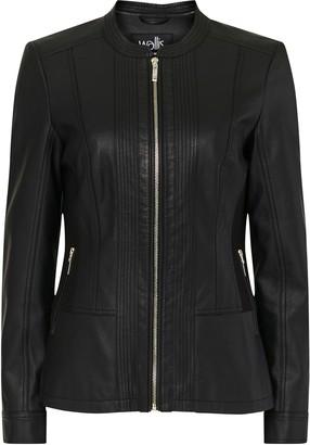 Wallis Black Faux Leather Jacket