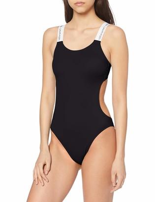 Calvin Klein Women's Open Cut Piece-rp Swimsuit