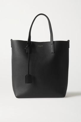 Saint Laurent Mini Leather Tote - Black