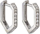Eva Fehren Women's Hexagon Hoop Earrings
