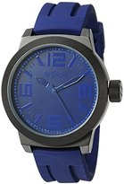 Kenneth Cole Reaction Unisex RK1390 Street Fashion Analog Display Japanese Quartz Black Watch