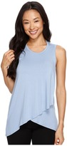 Karen Kane Asymmetric Overlay Tank Top Women's Sleeveless