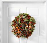 Pottery Barn Live Orange Harvest Wreath
