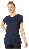 Smartwool Merino Sport 150 Pocket Tee (Deep Navy) Women's T Shirt