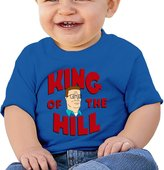 ALIZISHOP Baby's King Of The Hill Short Sleeve T Shirts