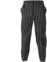 Jiyaru Baggy Chef Trousers Mens Cotton Blend Cargo Pants Workwear