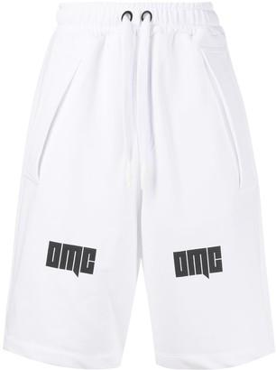 OMC Logo Print Track Shorts