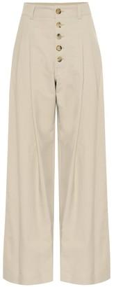 J.W.Anderson High-rise wide-leg cotton pants