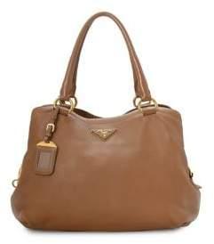 Prada Vintage Leather Tote Bag