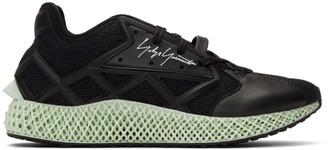 Y-3 Y 3 Black Runner 4D Sneakers
