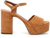 L'Autre Chose Lautre Chose LAutre Chose Suede Platform Sandals