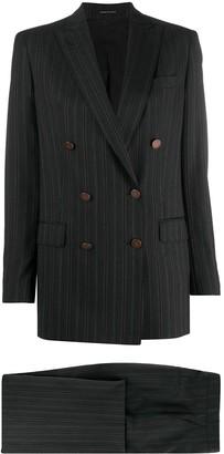 Tagliatore Jasmine double breasted pinstripe suit
