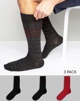 HUGO BOSS BOSS By Gift Socks In 3 Pack