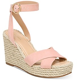 Via Spiga Women's Sesilia Strappy Espadrille Wedge Sandals