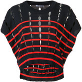 Alexander Wang knit cropped top - women - Cotton - S
