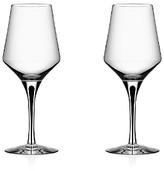 Orrefors Metropol White Wine Glass, Set of 2