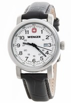 Wenger Urban Classic Small 34mm Watch - Leather Strap (For Women)