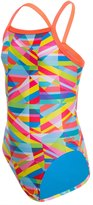 Speedo Youth Stripes Propel Back One Piece Swimsuit 8138483