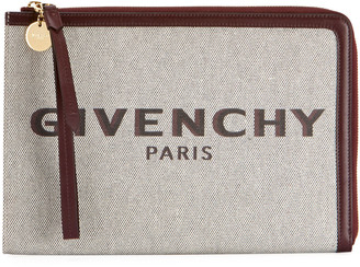 Givenchy Bond Large Pouch Clutch Bag