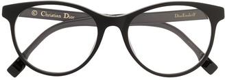Christian Dior Etoile round frame glasses