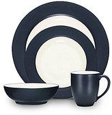 Noritake Colorwave Rim Matte & Glossy Stoneware 4-Piece Place Setting