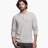 James Perse Drop Collar Cashmere Sweater
