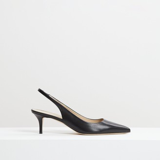 Theory City 55 Slingback in Leather