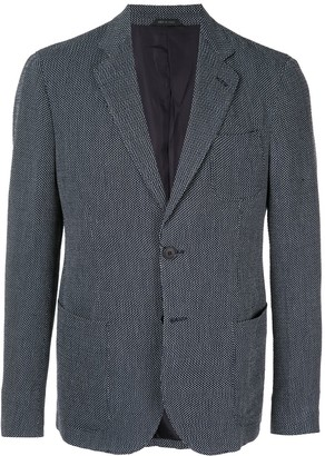 Giorgio Armani Tailored Patterned Blazer