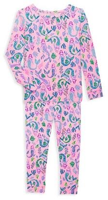 Lilly Pulitzer Little Girl's & Girl's Sammy 2-Piece Pajama Set