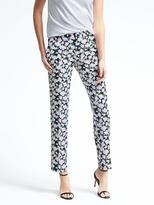 Banana Republic Avery-Fit Floral Pant