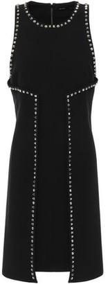 Proenza Schouler Studded Crepe Mini Dress