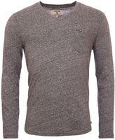 Garcia V-neck Chest Pocket Cotton Top
