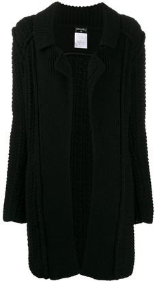 Chanel Pre Owned 2009's Knitted Cardi Coat