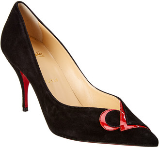 Christian Louboutin Cl 80 Suede Pump