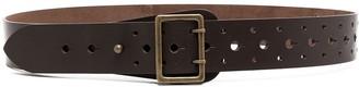 Aspesi Perforated Detail Belt