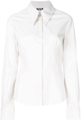 Dolce & Gabbana Pre Owned Pointed Collar Slim Shirt