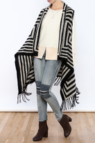 Curio Long Fringed Vest