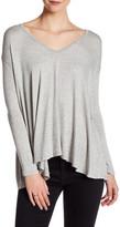 Lush 3/4 Length Dolman Sleeve Blouse